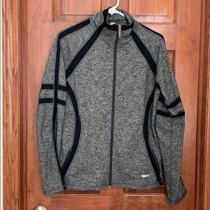 Jackets & Blazers - One Tooth Yoga Diamond Zip-Up Jacket